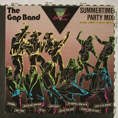 Gap Band: Summertime Party Mix - non-stop, Total Experiance(TE 40.01.02), D,  - 12inch - H4747 - 4,00 Euro