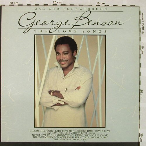 Benson,George: The Love Songs, m-/vg+, WB(240 886-1), D, 1985 - LP - H4969 - 5,00 Euro
