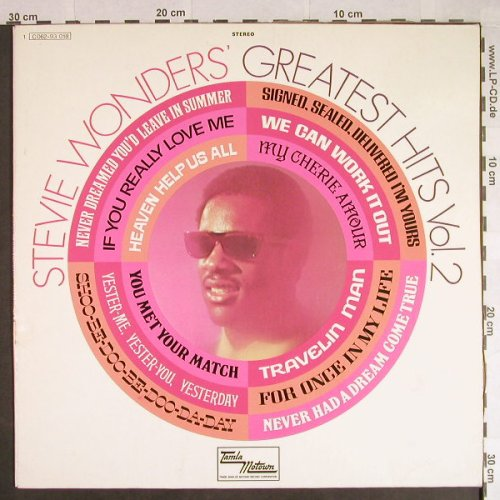 Wonder,Stevie: Greatest Hits Vol.2, Motown(C 062-93 018), D, 1971 - LP - H503 - 6,00 Euro