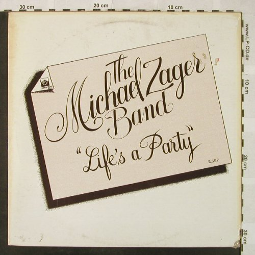 Zager Band,Michael: Life is a Party, vg+/VG-, Private Stock(2S 068 61925 SE), F, 1978 - LP - H5156 - 4,00 Euro