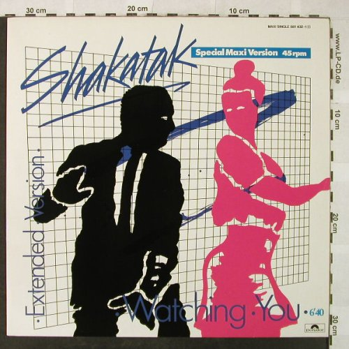 Shakatak: Watching You (ext.vers.)+2, Polydor(881 432-1), D, 1984 - 12inch - H5304 - 3,00 Euro