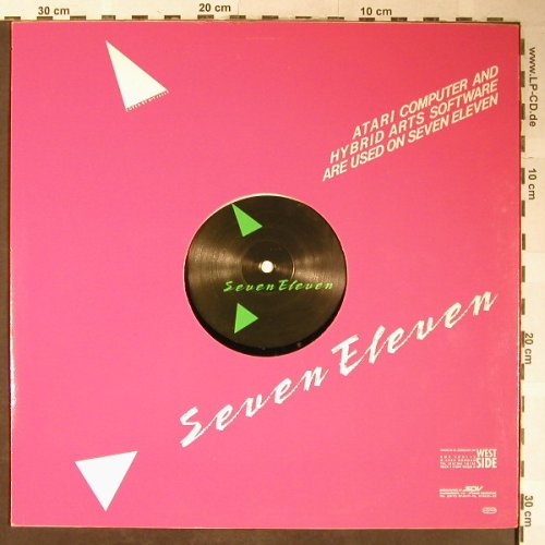 Seven Eleven: O.K. Okay, Miced media edit(re mix), West Side(50-3760-R), D, 1987 - 12inch - H5343 - 4,00 Euro