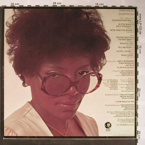Gaynor,Gloria: Experience, MGM(2315 344), D, 1975 - LP - H5431 - 7,50 Euro