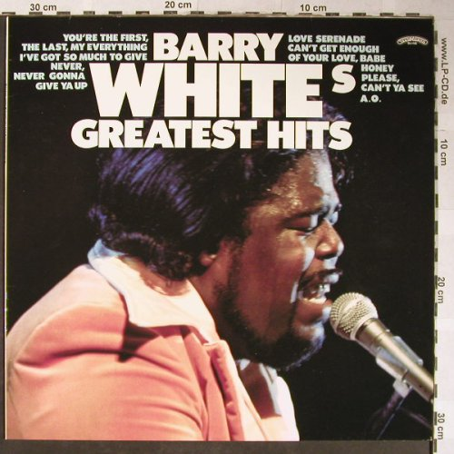 White,Barry: Greatest Hits, Casablanca(6337 271), D, 1975 - LP - H5498 - 6,00 Euro