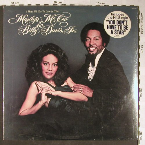 McCoo,Marilyn & Billy Davis, Jr.: I Hope We Get To Love In Time, ABC(ABCD-952), D, FS-New, 1976 - LP - H5515 - 20,00 Euro