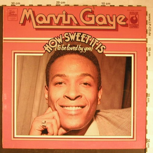 Gaye,Marvin: How Sweet It Is, m-/vg+, Sound Superb(SPR 90006), UK,Ri,  - LP - H5580 - 5,00 Euro