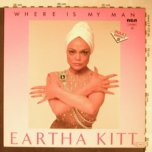 Kitt,Eartha: Where Is My Man,6:24+1,vocal,instr., RCA(PC 69081), D, 1983 - 12inch - H5633 - 3,00 Euro