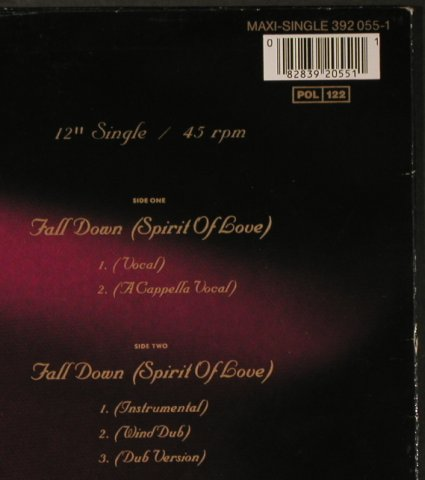 Tramaine: Fall Down*5, AM(392 055-1), D, 1985 - 12inch - H5648 - 3,00 Euro