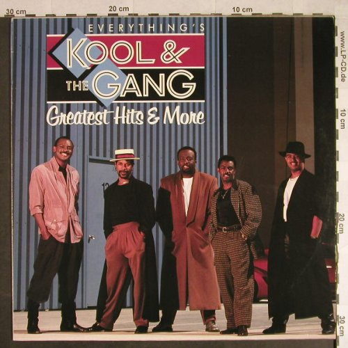 Kool & The Gang: Everything's-Greatest Hits & More, Metronome(), D, 1988 - LP - H566 - 5,50 Euro