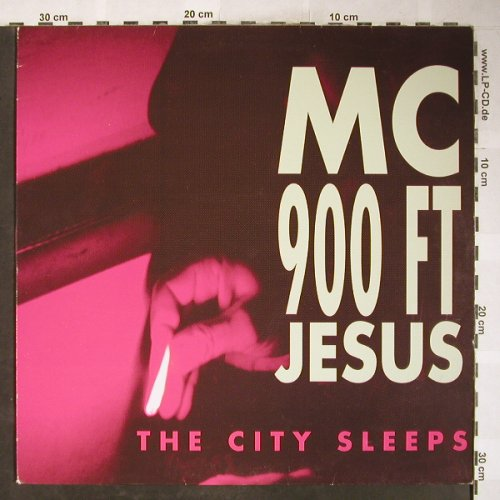 MC 900 FTJesus: The City Sleeps *4, Nettwerk(NET 037), NL, 1991 - 12inch - H6141 - 6,00 Euro