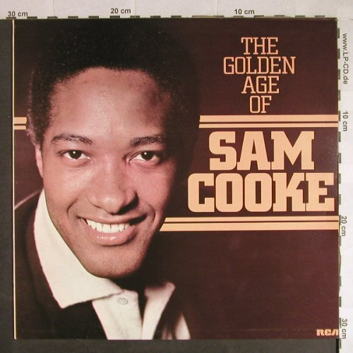 Cooke,Sam: The Golden Age of, RCA(RS 1054), UK, 1976 - LP - H628 - 6,00 Euro