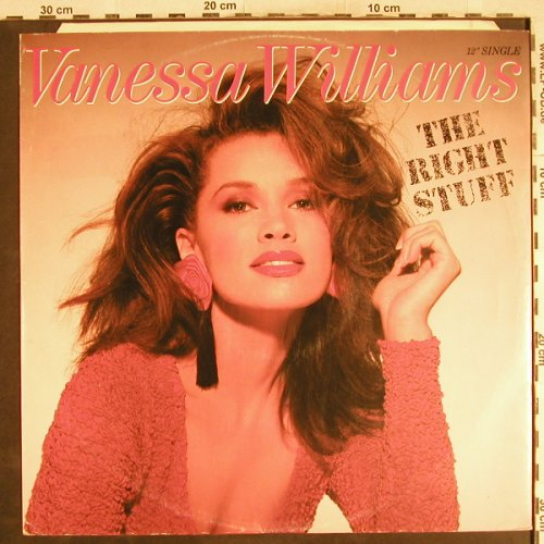 Williams,Vanessa: The Right Stuff *3, Wing/Polydor(887 660-1), , 1988 - 12inch - H7147 - 2,50 Euro