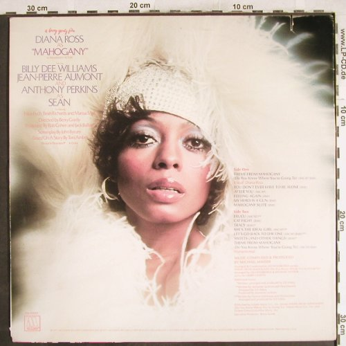 Ross,Diana & Supremes: As Mahogany, OST, Motown(M6-858S1), US, Co, 1975 - LP - H7280 - 9,00 Euro