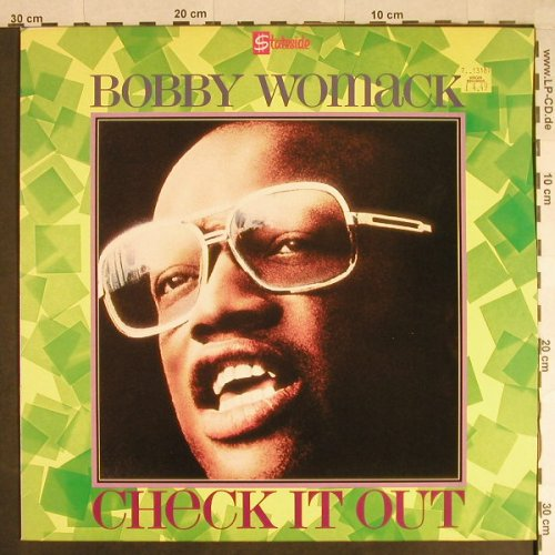 Womack,Bobby: Chech it out, Stateside(SSL 6013), UK, 1986 - LP - H738 - 6,00 Euro