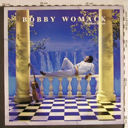 Womack,Bobby: So Many Rivers, MCA(252 327-1), D, 1985 - LP - H739 - 5,50 Euro