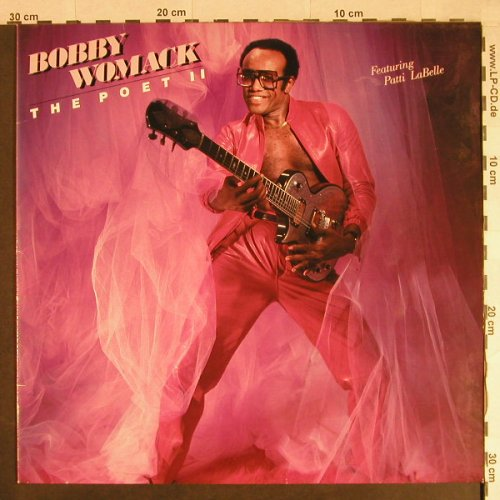 Womack,Bobby: The Poet II, feat. Patti LaBelle, Motown(ZL72205), D, 1984 - LP - H740 - 6,00 Euro