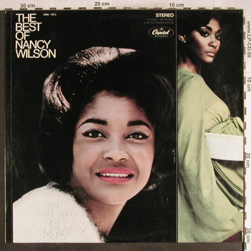 Wilson,Nancy: The Best Of, Capitol(SMK 1023), D,  - LP - H7590 - 7,50 Euro