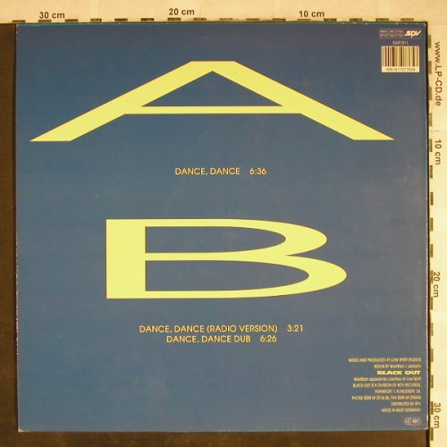 Deskee: Dance,Dance *3 radio/dub, Black Out(OUT 011), D, 1990 - 12inch - H7840 - 4,00 Euro