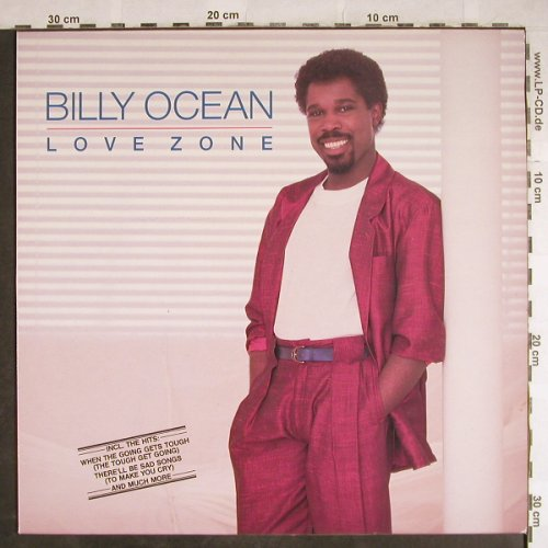 Ocean,Billy: Love Zone, Jive(6.26335 AP), D, 1986 - LP - H8034 - 5,50 Euro
