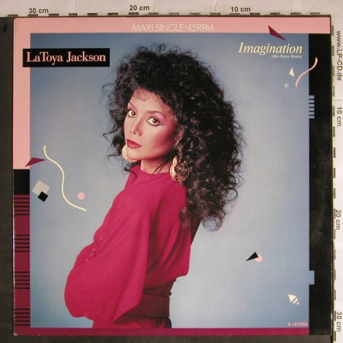 Jackson,La Toya: Imagination*2,hot d.rmx/Private Joy, Epic(EPCA 12.7282), NL, 1986 - 12inch - H8800 - 4,00 Euro
