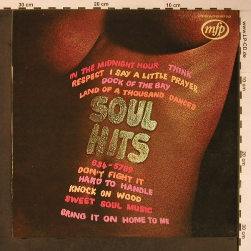 V.A.Soul Hits: 12 Tr. (Cover-Versions), MFP(MFP 5101), D/NL,  - LP - H8877 - 4,00 Euro