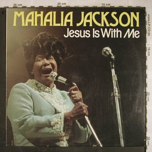 Jackson,Mahalia: Jesus Is With Me, stoc, Astan(20081), D,  - LP - H9244 - 6,00 Euro