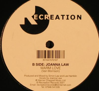 Law,Joanna: Song For Theo/ Warm Love, Recreation(), , 2001 - 12inch - H9734 - 3,00 Euro