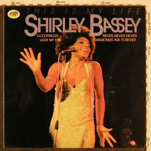Bassey,Shirley: This Is My Life, MFP(1A022-58085), NL, 1980 - LP - H9746 - 3,00 Euro