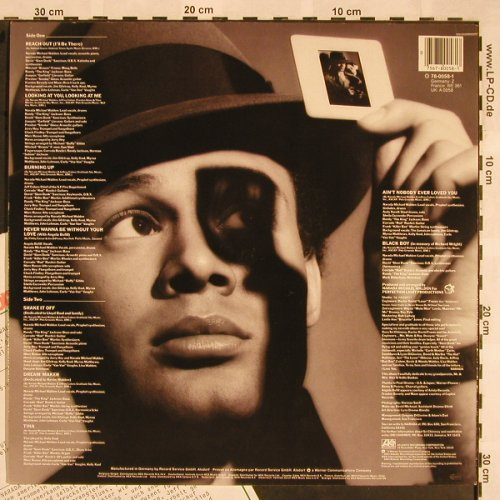 Walden,Narada Michael: Looking At You,Looking At Me, Atlantic(78-0058-1), D, Co, 1983 - LP - X1344 - 5,50 Euro