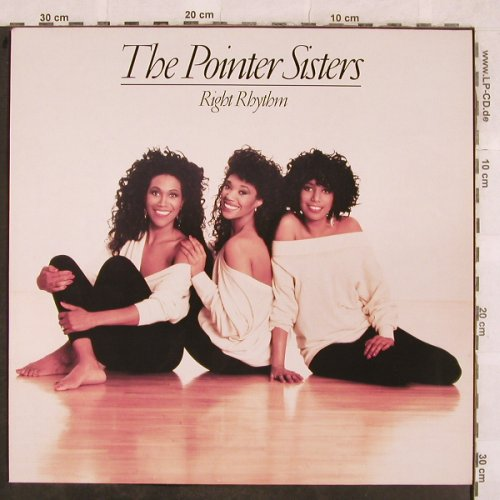 Pointer Sisters: Right Rhythm, Motown(ZL 72704), D, 1988 - LP - X156 - 5,00 Euro