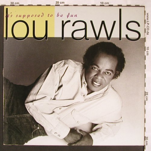 Rawls,Lou: It's Supposed To Be Fun, Blue Note(7 93841 1), D, 1990 - LP - X1733 - 7,50 Euro