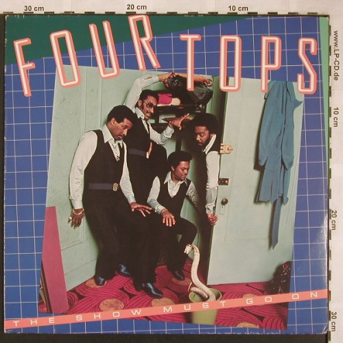 Four Tops: The Show Must Go On, ABC(25 536 XOT), D, 1977 - LP - X1763 - 5,50 Euro