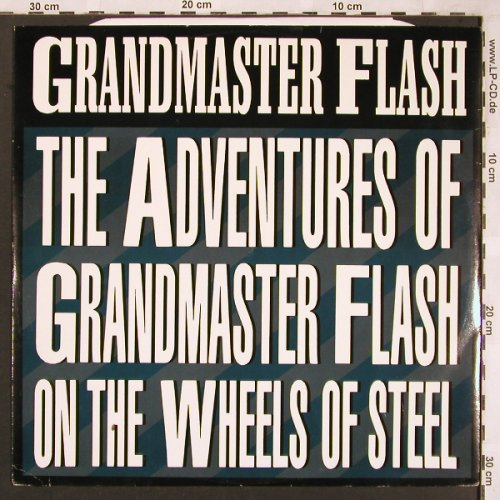 Grandmaster Flash & Furious 5: The Adventures of.../The Message, Blatant/Castle(BLAT12-3), UK, 1988 - 12inch - X1819 - 6,00 Euro