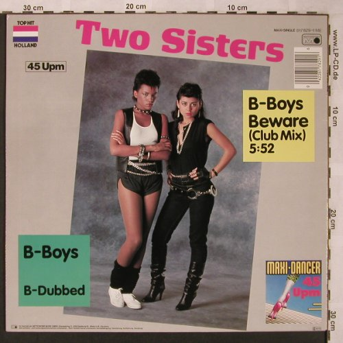Two Sisters: B-Boys Beware(Club Mix), Metronome(817 829-1 ME), D, 1983 - 12inch - X2067 - 3,00 Euro