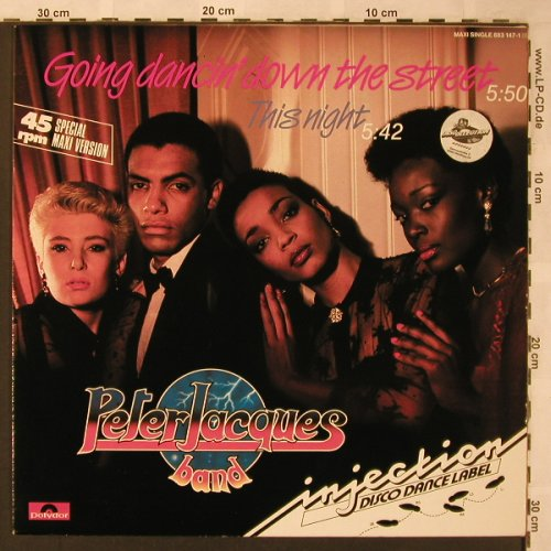 Jacques Band,Peter: Going Dancing Down The Street+1, Polydor(883 147-1), D, 1985 - 12inch - X2089 - 3,00 Euro