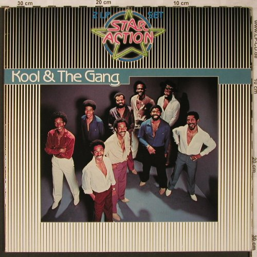 Kool & The Gang: Star Action, Foc, De-Lite(0080.086), D,  - 2LP - X2145 - 7,50 Euro