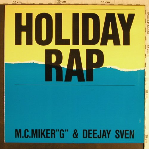 M.C.Miker G & Deejay Sven: Holiday Rap*3+1, Rush(608 437-213), D,  - 12inch - X2161 - 3,00 Euro