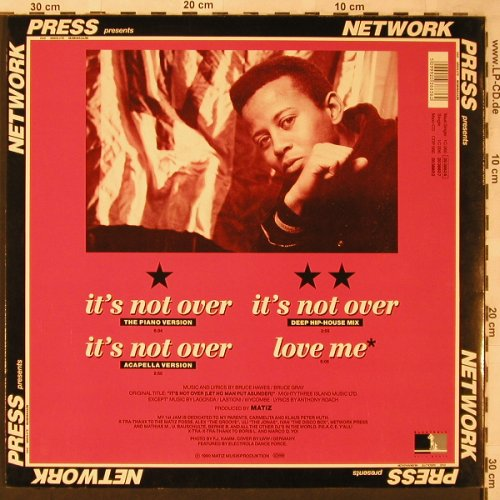Beats 4 u feat. Anthony Roach: It's not over *4, Electrola(20 3883 6), D, 1990 - 12inch - X2167 - 3,00 Euro