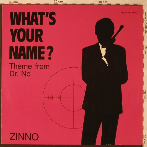 Zinno: What's Your Name? *2, Rush Records(RR 12 007), D, 1985 - 12inch - X2177 - 3,00 Euro