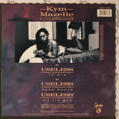 Mazelle,Kym: Useless *3, Syncopate(20 2976 6), D, 1988 - 12inch - X2179 - 3,00 Euro