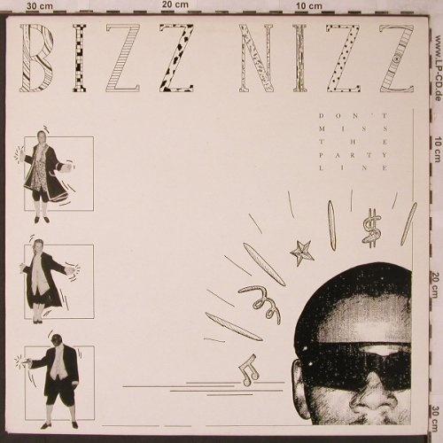 Bizz Nizz: Don't miss the party, Byte Rec.(12002), ,  - 12inch - X2184 - 4,00 Euro