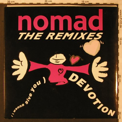 Nomad: I wanna give you devotion*3,remixes, ZYX(ZYX 6430R-12), D, 1990 - 12inch - X2185 - 3,00 Euro