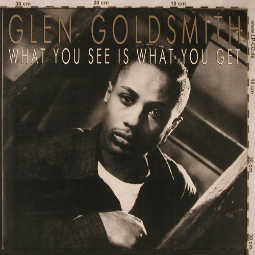 Goldsmith,Glen: What you see is what you get, RCA(PL 71750), D, 1988 - LP - X2213 - 5,00 Euro