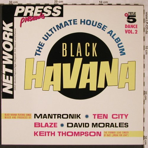 V.A.Black Havana Vol.2: Keith Thompson...Trio Zero, Capitol(7 90923 1), D, 1989 - LP - X2227 - 6,00 Euro