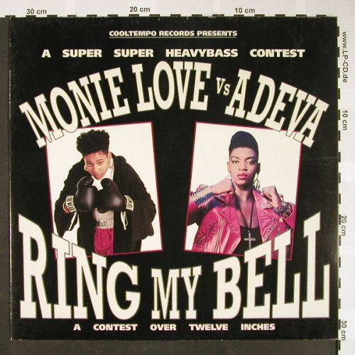 Monie Love vs Adeva: Ring my Bell  mix *3, Cooltempo(1C 060-323632), EEC, 1990 - 12inch - X2264 - 4,00 Euro