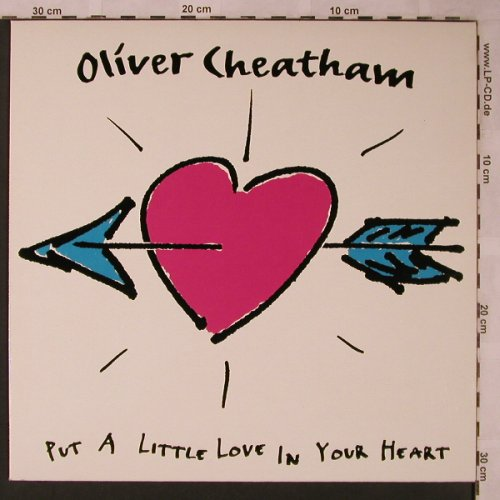 Cheatham,Oliver: Put A Little Love In Your Heart*2, Electrola(2 04441 6), D, 1991 - 12inch - X2272 - 4,00 Euro