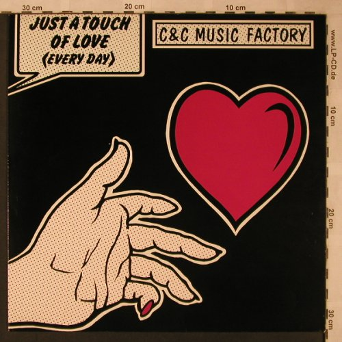 C & C Music Factory: Just A Touch Of Love *3, Columbia(657524 6), D, 1991 - 12inch - X2273 - 4,00 Euro