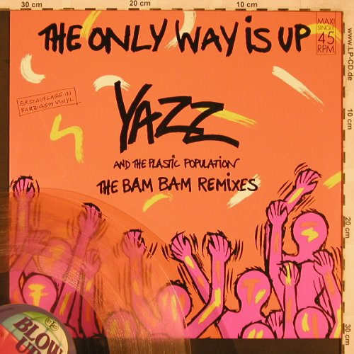 Yazz & Plastic Population: The Only Way Is Up+1, ClearVinyl, Blow Up(INT 125.749), D, 1988 - 12inch - X2285 - 4,00 Euro