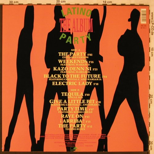 Latino Party: The Album, Polydor(847 574-1), D, 1990 - LP - X2292 - 6,00 Euro