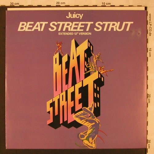 Juicy: Beat Street Strut *2, m-/vg+, Atlantic(786 943-0), D, 1984 - 12inch - X2328 - 3,00 Euro